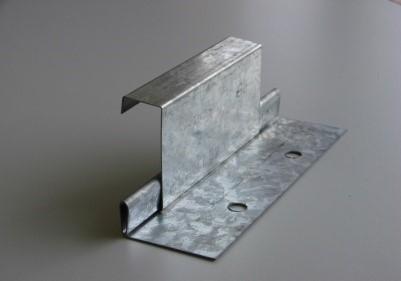 Fijación oculta-cubierta y fachada engatillada Eurodesign